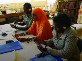 Transforming public libraries in Kenya