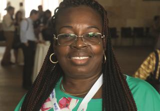 EIFL Country Coordinator Cecile Coulibaly