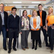 Image of OA Week 2013 organizers and speakers.