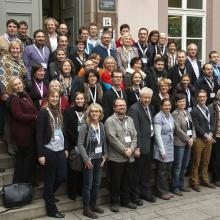 The OpenAIRE team at an OpenAIRE conference at Göttingen State and University Library, 20 November 2012