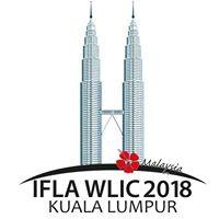 IFLA WLIC 2018 logo - skyscrapers with words IFLA WLIC