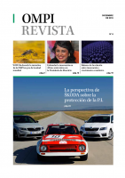 Cover of WIPO Magazine featuring Skoda cars