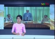 screen shot of television news presenter