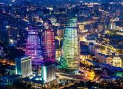 Photo of Baku by night