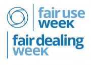 Fair Use / Fair Dealing Week logo