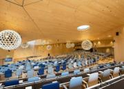 The WIPO Conference Hall in Geneva, Switzerland - large hall with tiered seating
