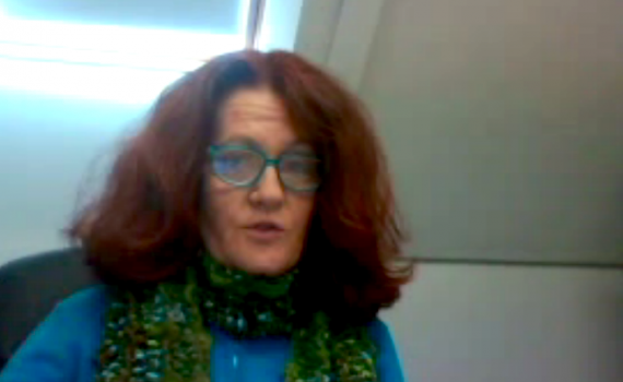 Associate Professor Laura Czerniewicz (Director, OpenUCT Initiative, The Centre for Educational Technology at the University of Cape Town (UCT) speaks during the webinar about how OERs are a part of a broader open movement and institutional context.
