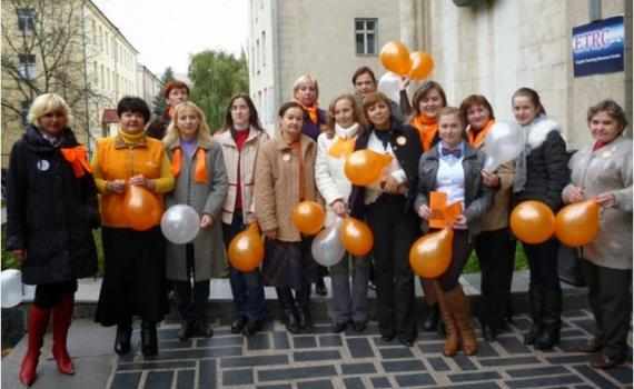 """Participants of a national open access campaign """"OA in Moldova"""" October, 2013."""